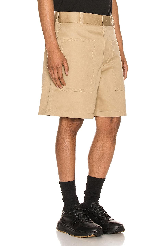 Image 2 of Jil Sander Auriel Shorts in Light & Pastel Brown