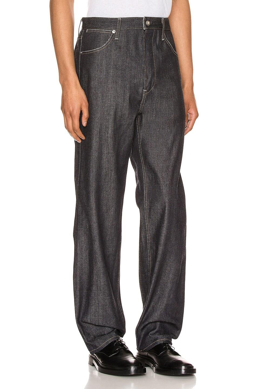 Image 2 of Jil Sander Standard Jeans in Dark Blue
