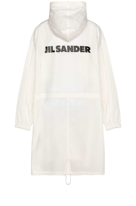 Image 1 of Jil Sander Water Repellent Coat in Antique White