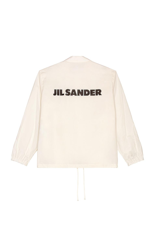 Image 1 of Jil Sander Logo Jacket in Linen