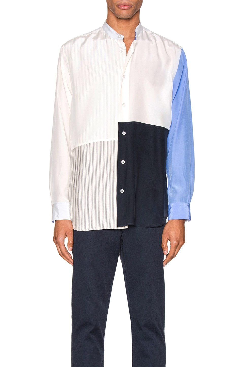 Image 1 of Jil Sander Tara Long Sleeve Shirt in Natural