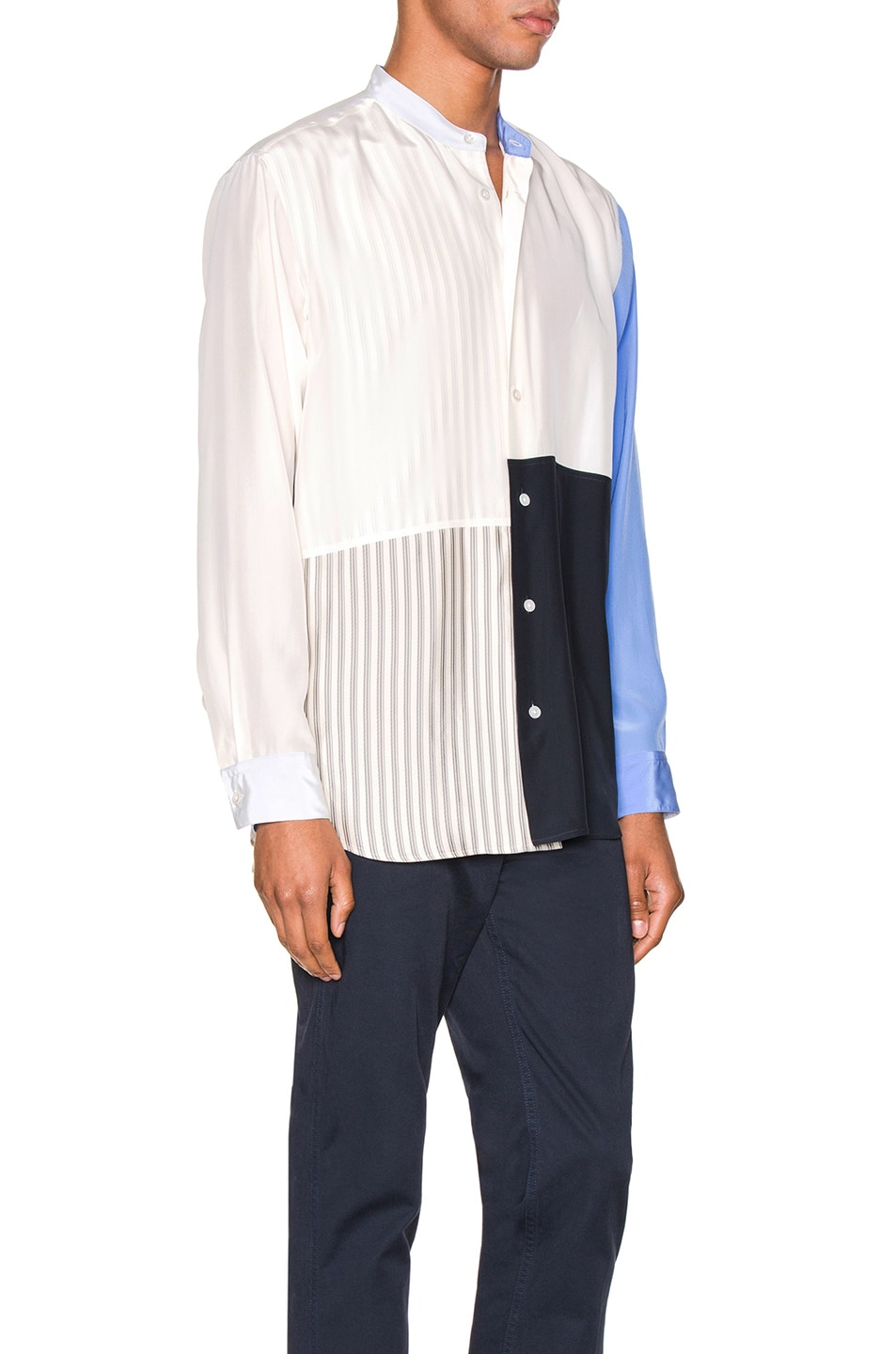 Image 2 of Jil Sander Tara Long Sleeve Shirt in Natural