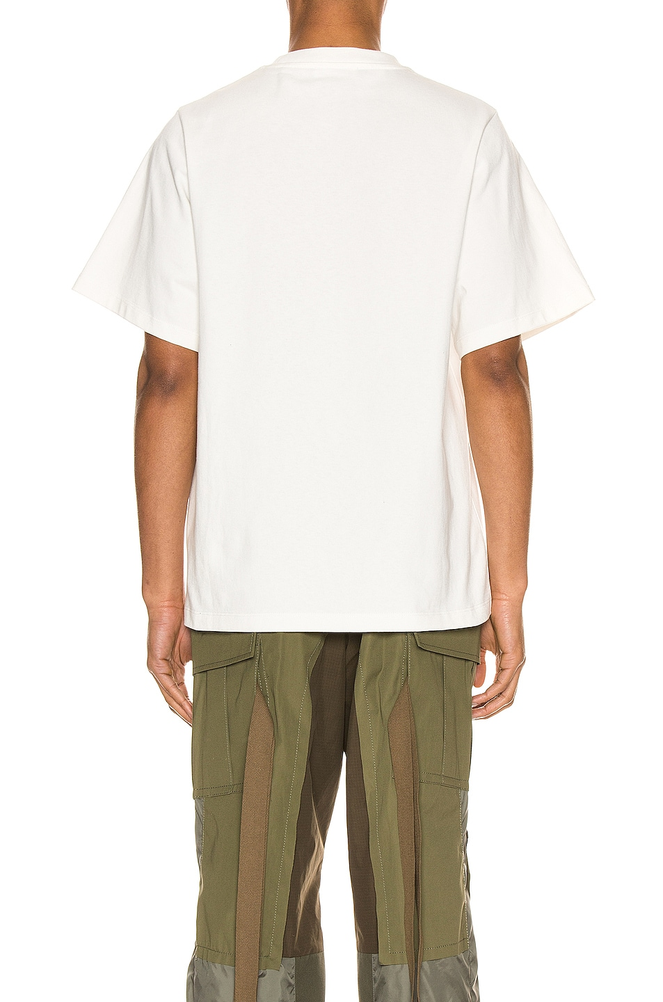 Image 3 of Jil Sander Graphic Tee in Natural