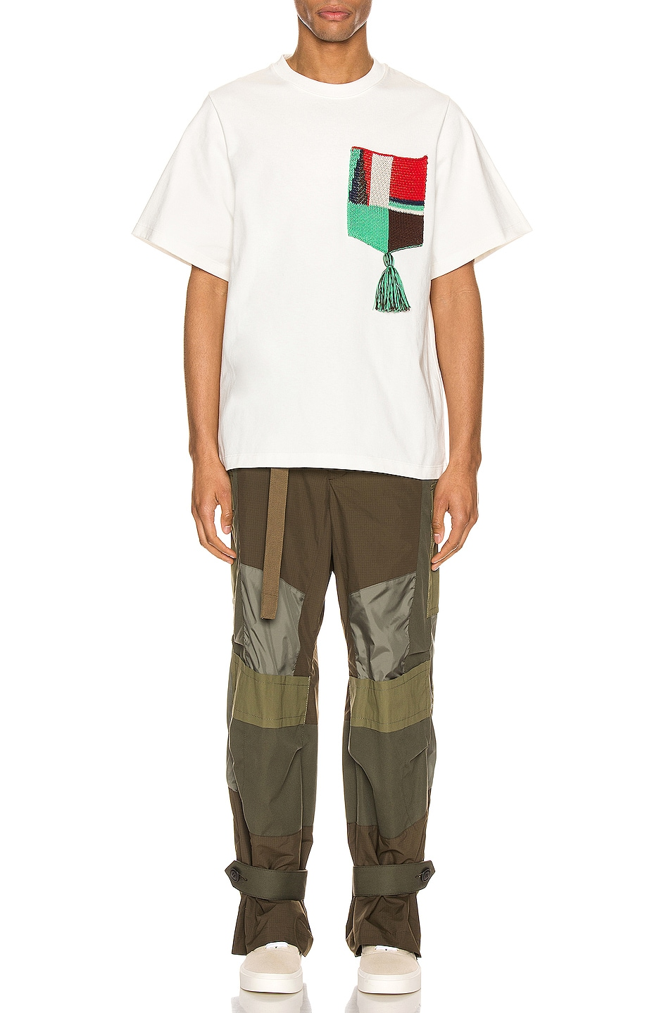 Image 4 of Jil Sander Graphic Tee in Natural