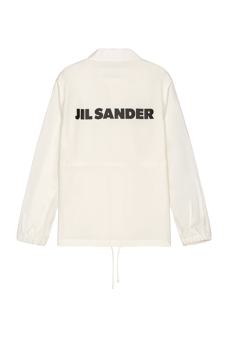 Image 1 of Jil Sander Water Repellent Button Down in Antique White