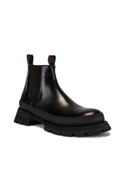 Image 1 of Jil Sander Antick 999 Ankle Boot in Black