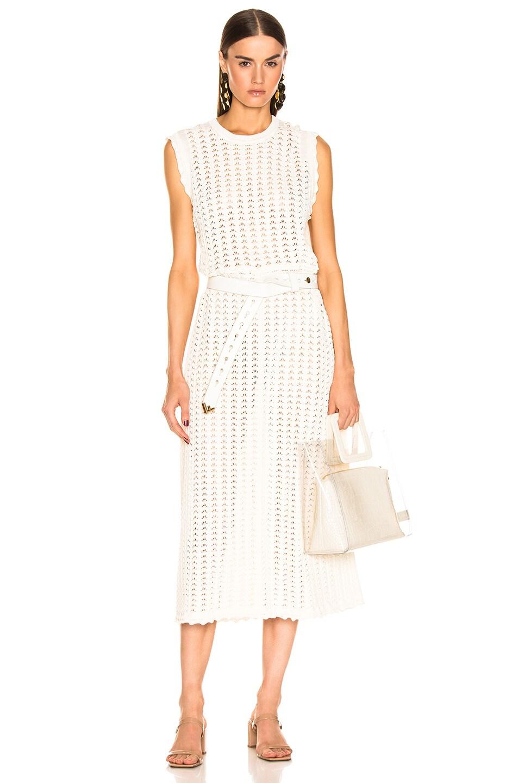 Image 1 of Jil Sander Midi Dress in Natural
