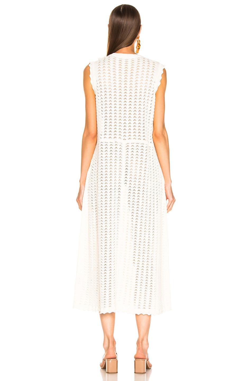 Image 4 of Jil Sander Midi Dress in Natural