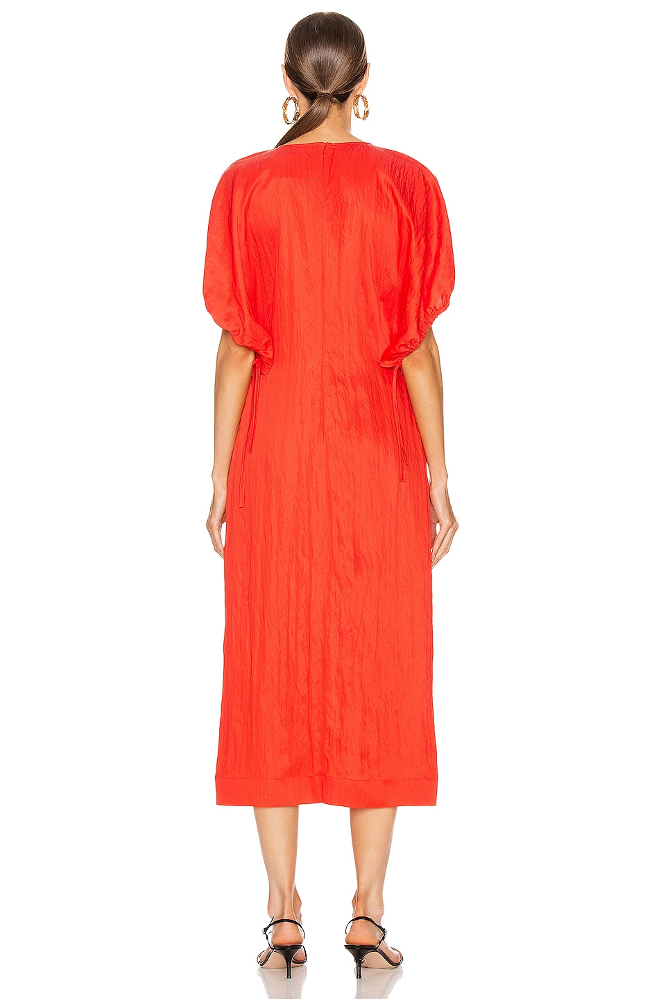 Image 3 of Jil Sander Lennox Dress in Chilli