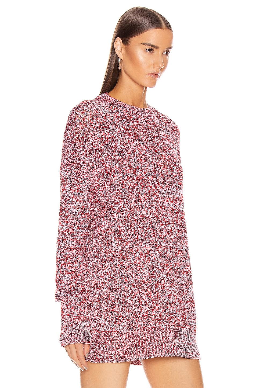 Image 2 of Jil Sander Long Sleeve Sweater in Open Miscellaneous