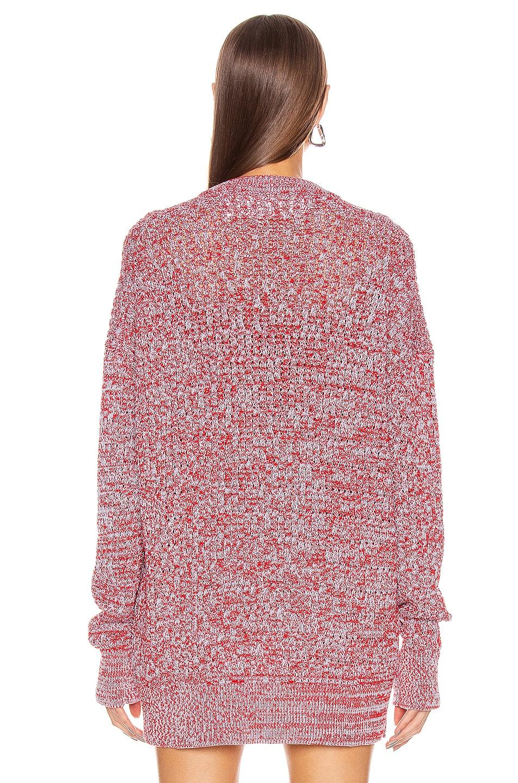 Image 3 of Jil Sander Long Sleeve Sweater in Open Miscellaneous