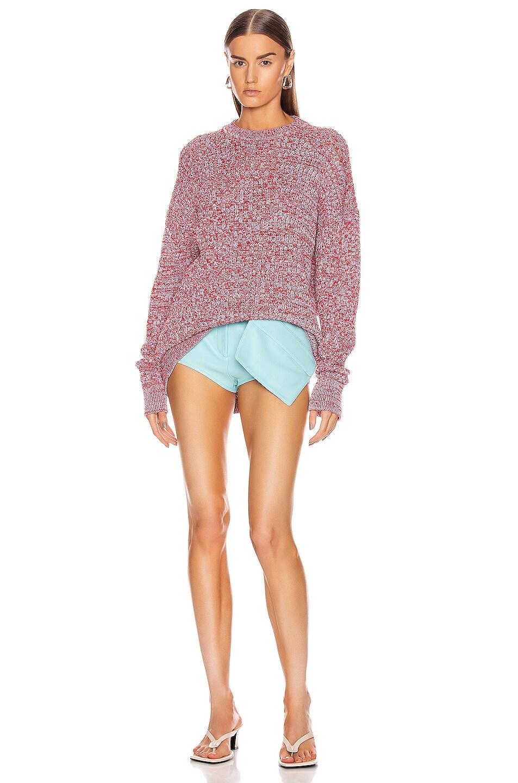 Image 4 of Jil Sander Long Sleeve Sweater in Open Miscellaneous