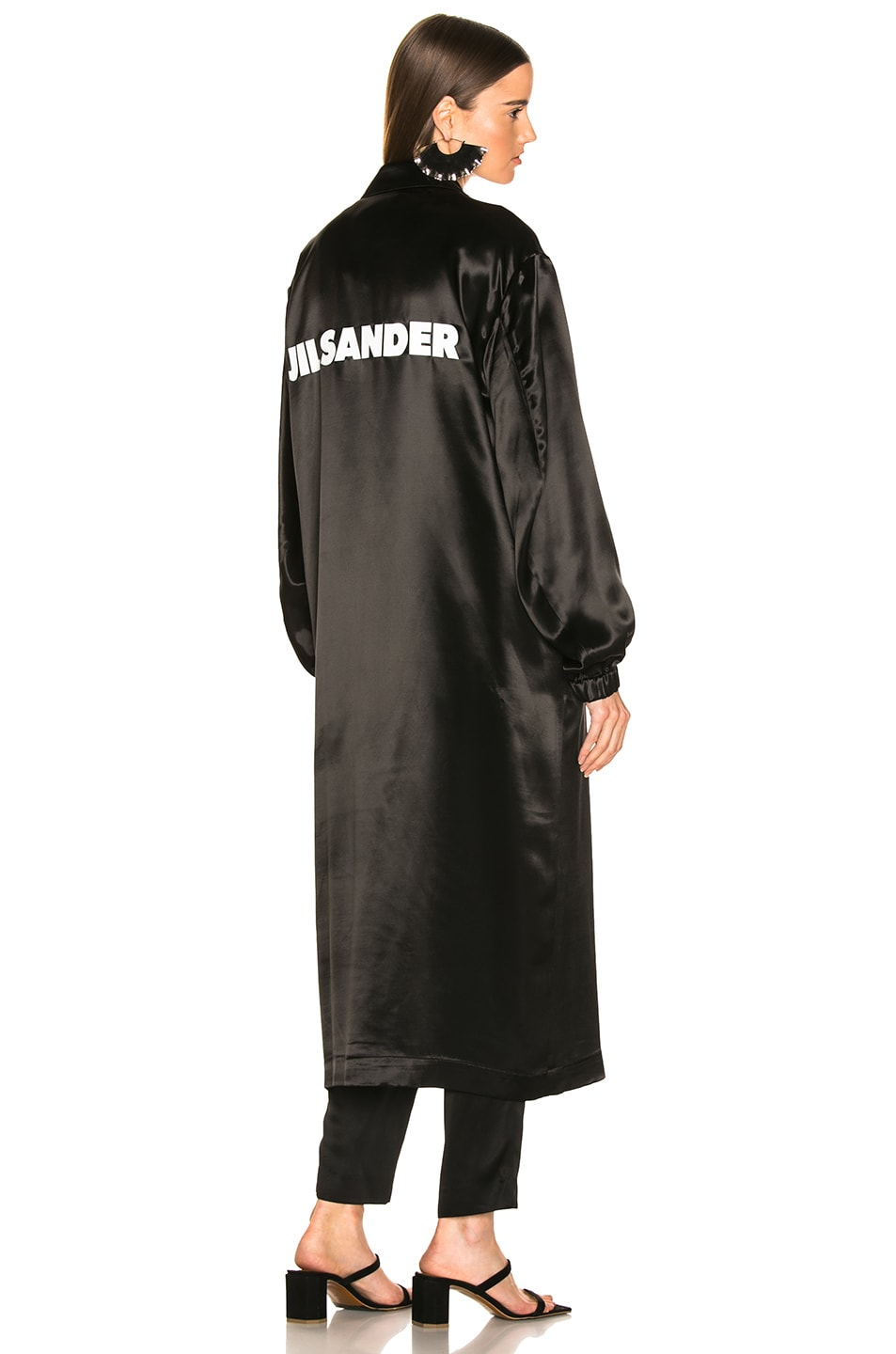Image 1 of Jil Sander Logo Robe in Black
