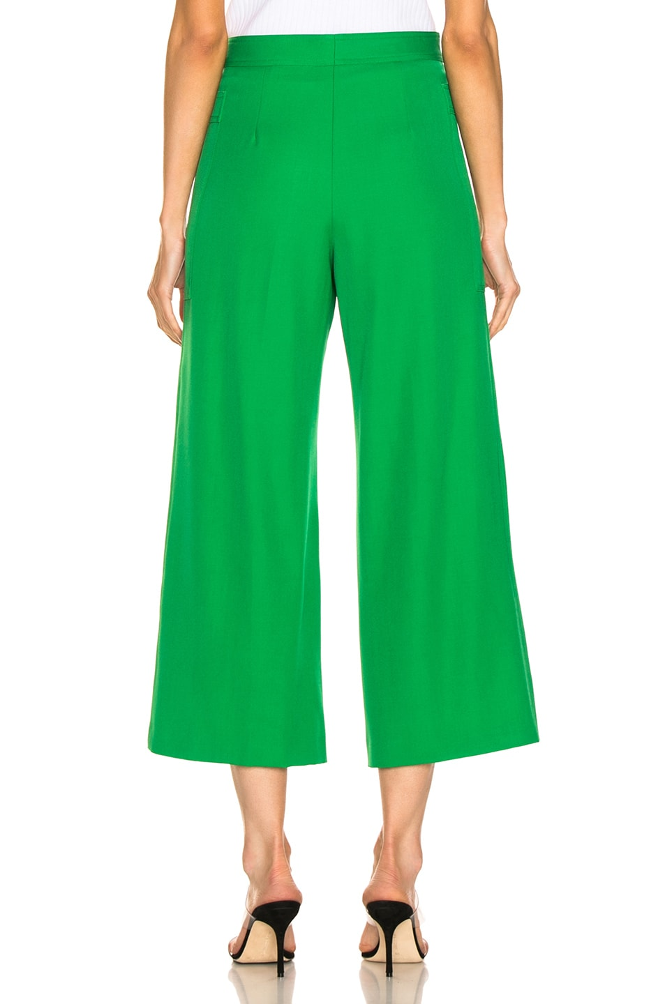 Image 3 of Jil Sander Gaston Pant in Bright Green