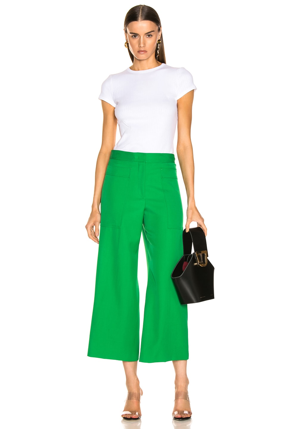 Image 4 of Jil Sander Gaston Pant in Bright Green