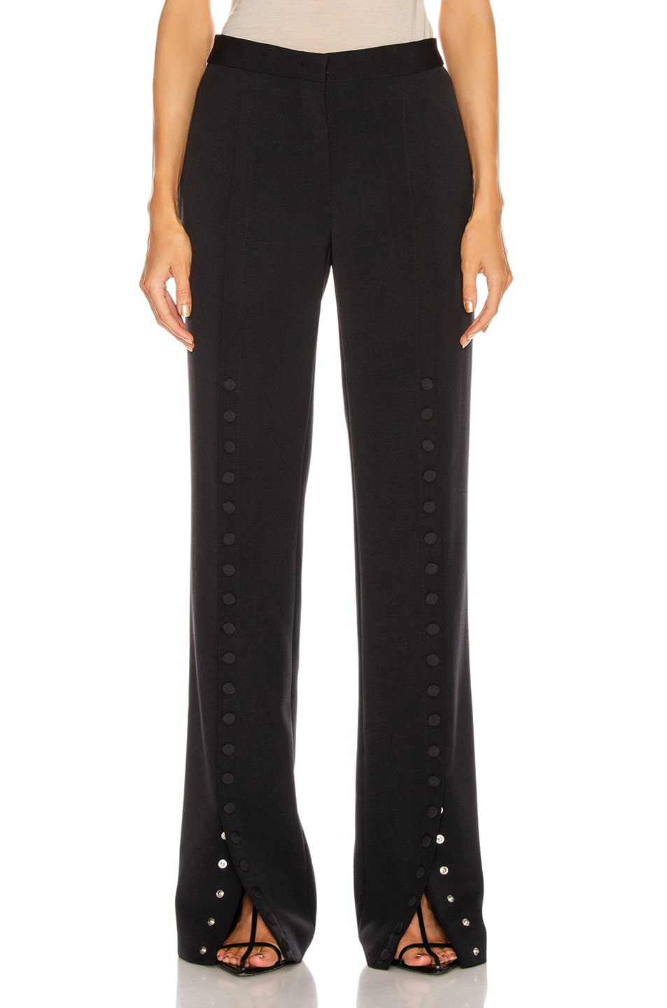 Image 1 of Jil Sander Snap Button Pant in Dark Blue
