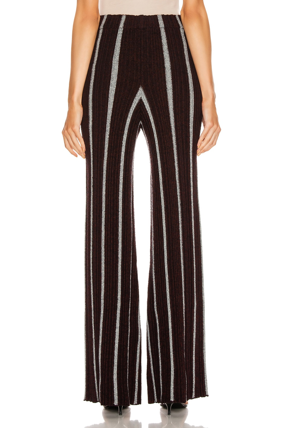 Image 3 of Jil Sander Long Wide Leg Pant in Stripe
