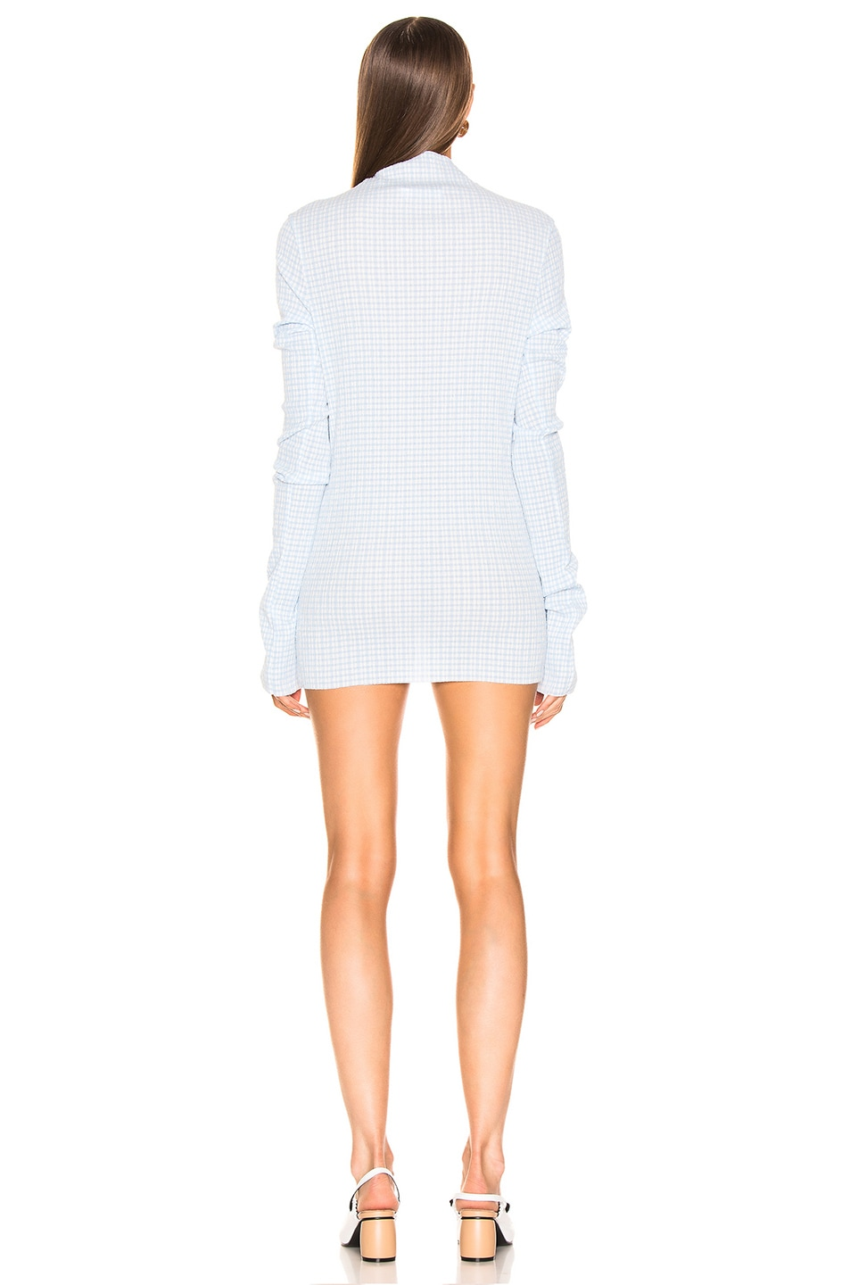 Image 4 of Jil Sander Long Sleeve Tunic in Open Blue
