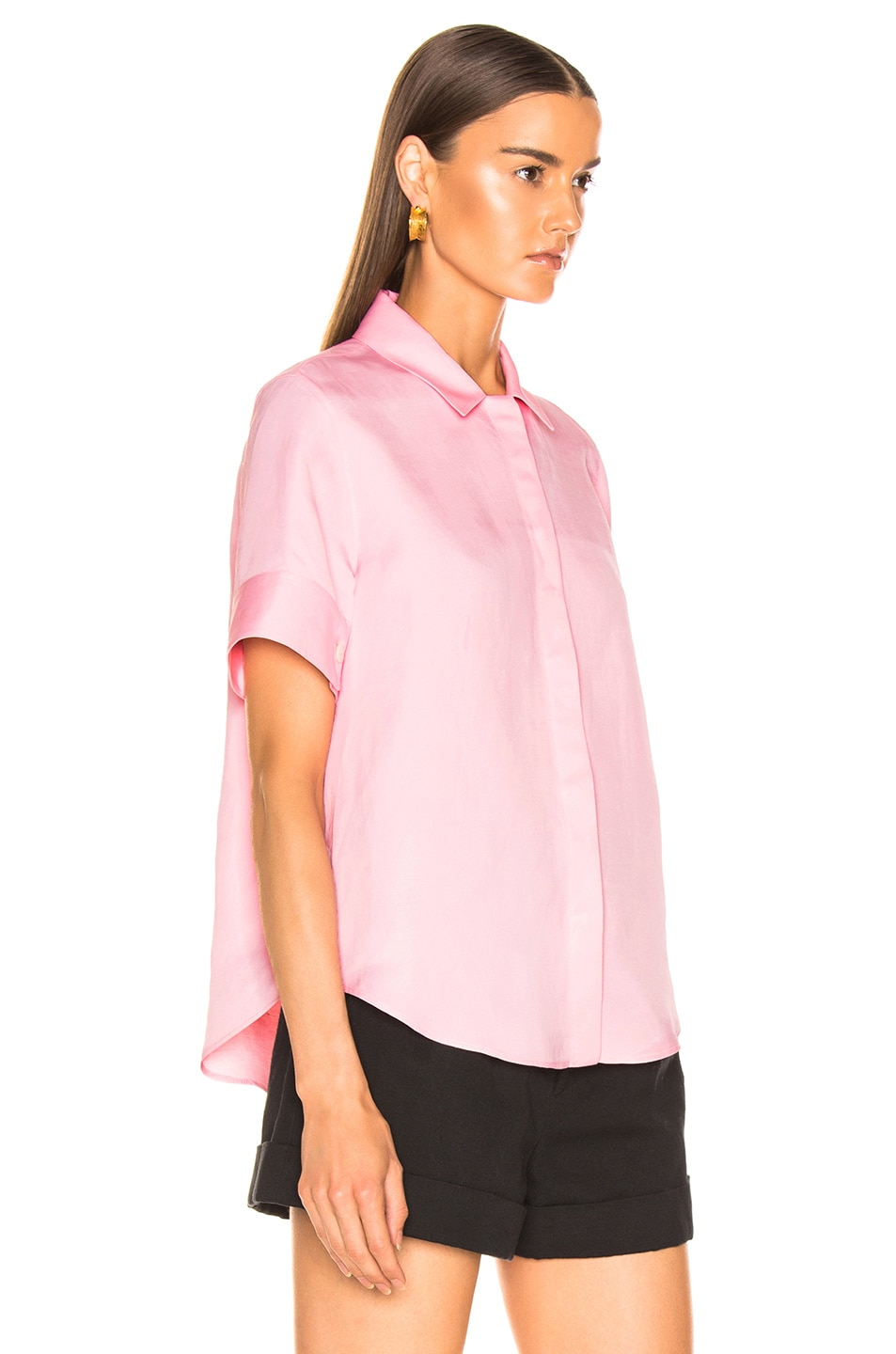 Image 2 of Jil Sander Giuditta Top in Bright Pink