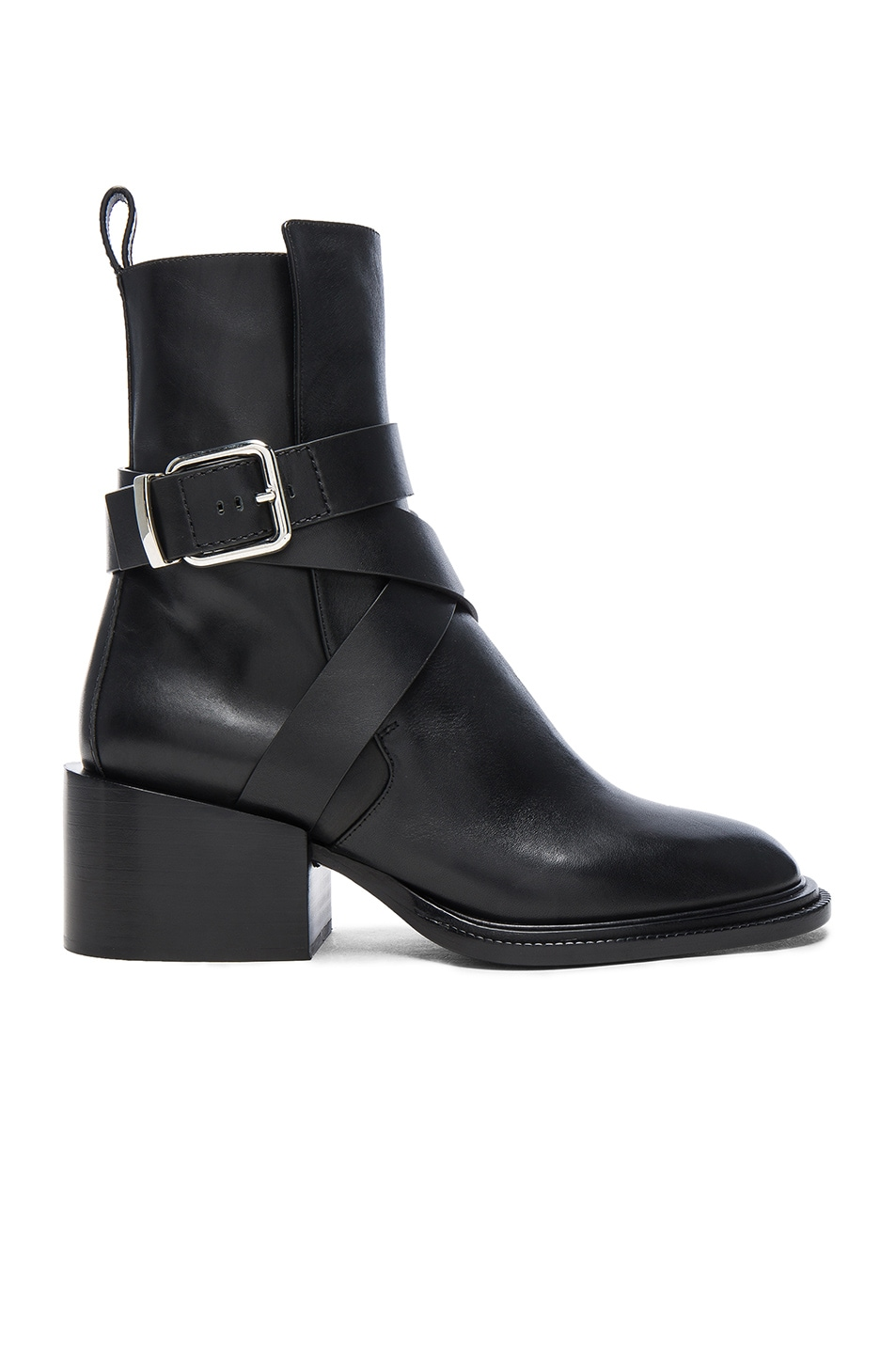 Image 1 of Jil Sander Leather Boots in Black