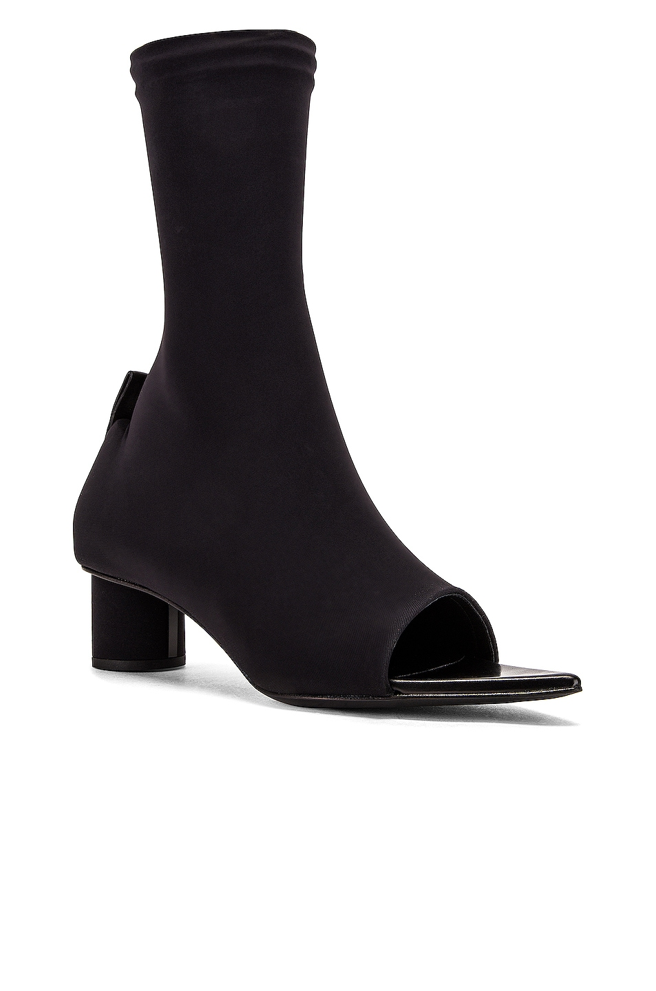 Image 2 of Jil Sander Open Toe Bootie in Black
