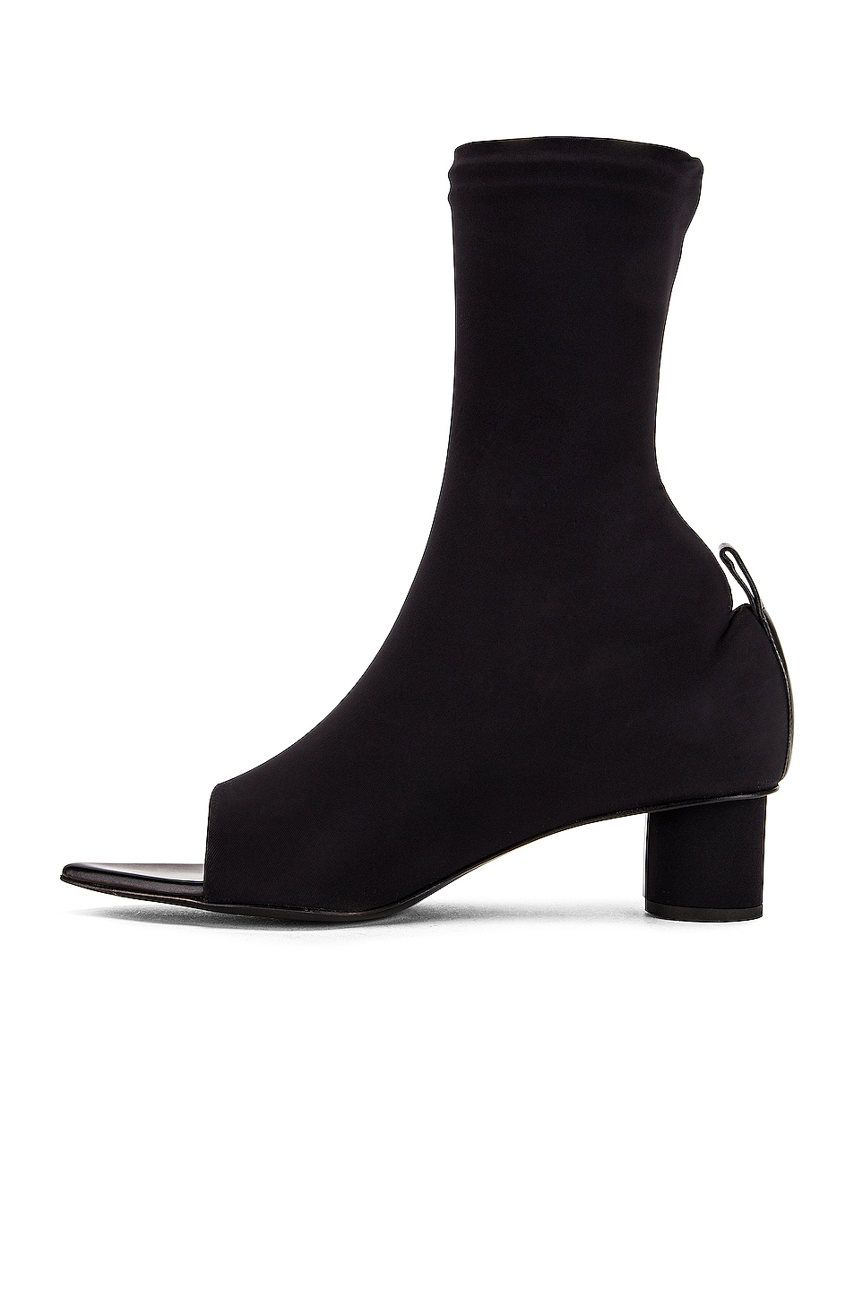 Image 5 of Jil Sander Open Toe Bootie in Black