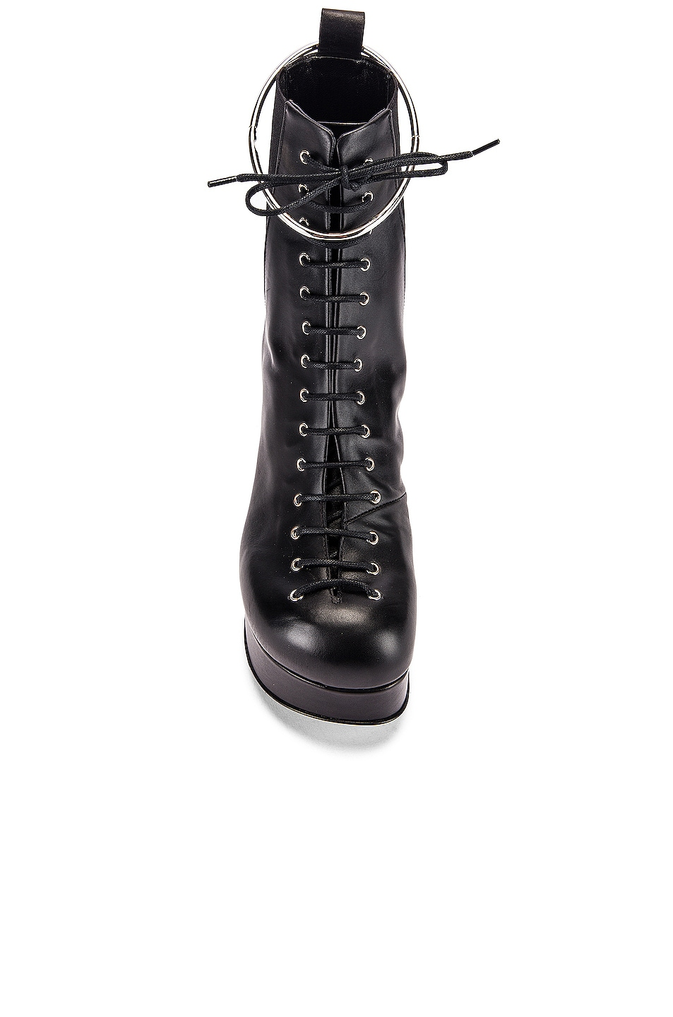 Image 4 of Jil Sander Lace Up Ankle Boots in Black