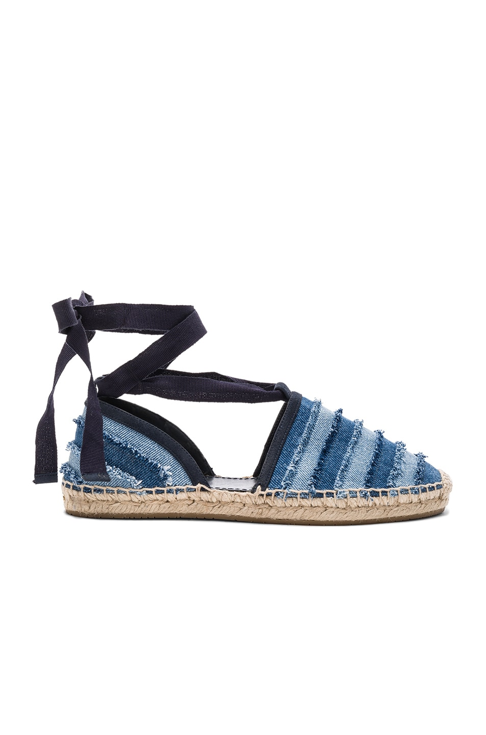 Image 1 of Jimmy Choo Dolphin Espadrille in Light Indigo Mix
