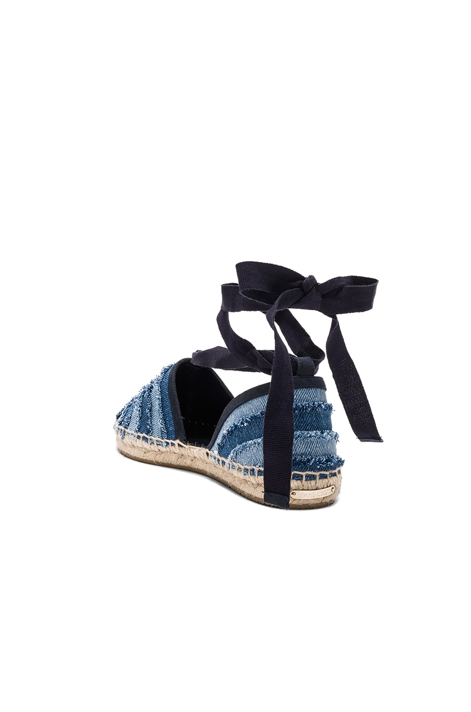 Image 3 of Jimmy Choo Dolphin Espadrille in Light Indigo Mix