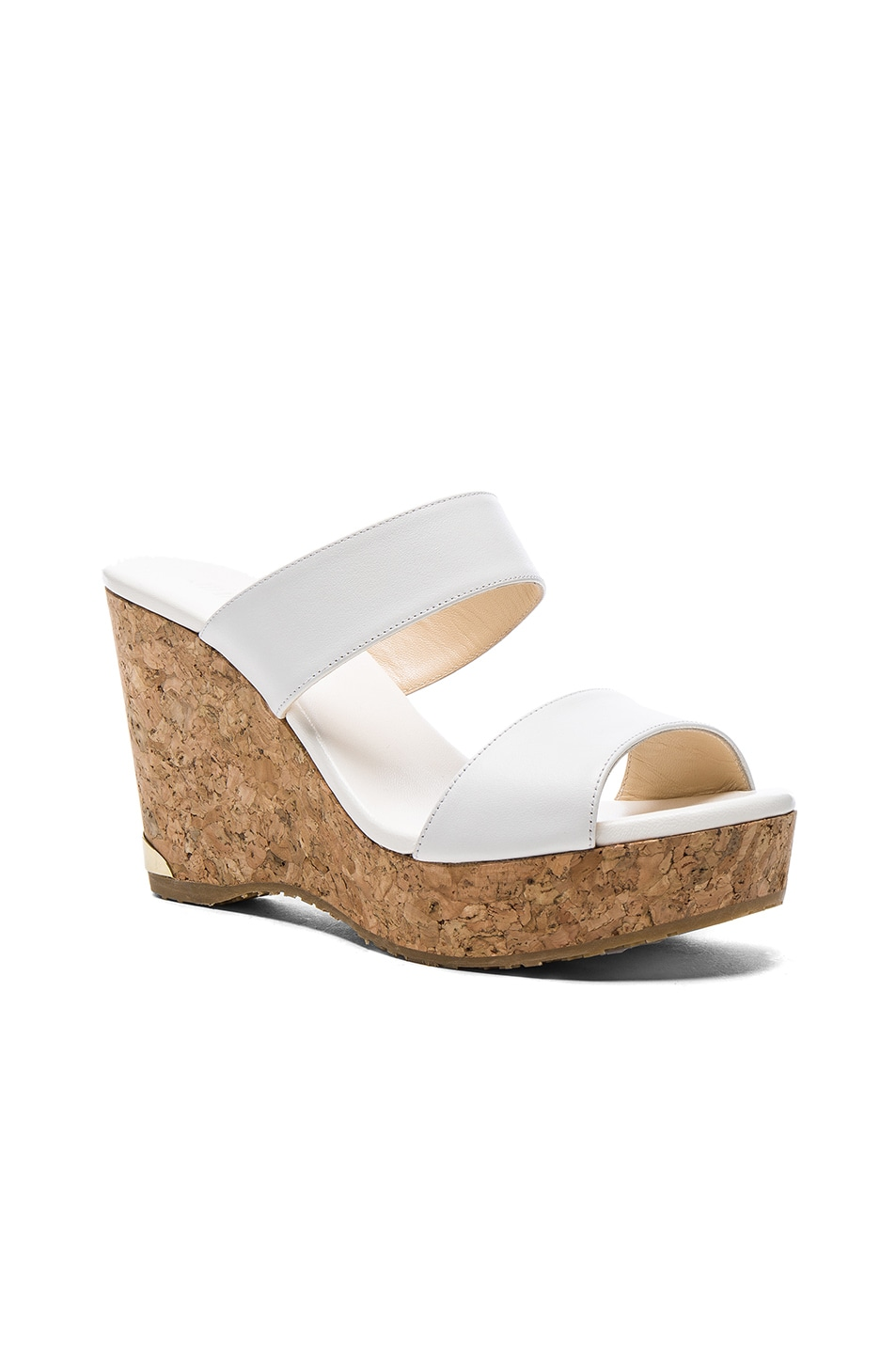 Image 2 of Jimmy Choo Parker Wedge in White