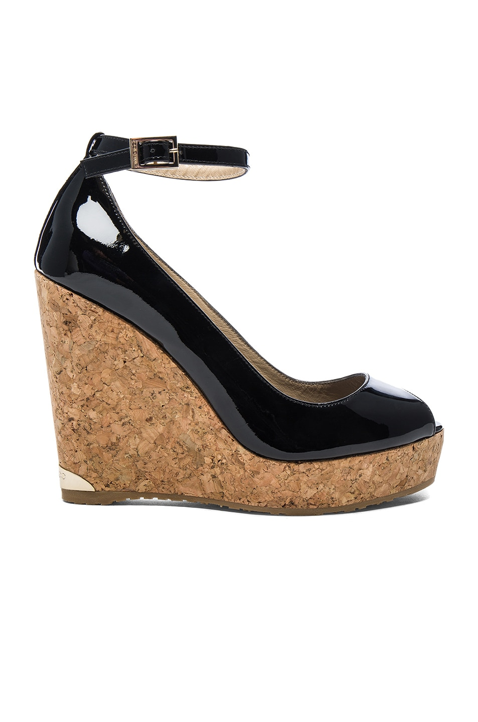 Image 1 of Jimmy Choo Pacific Wedge in Black