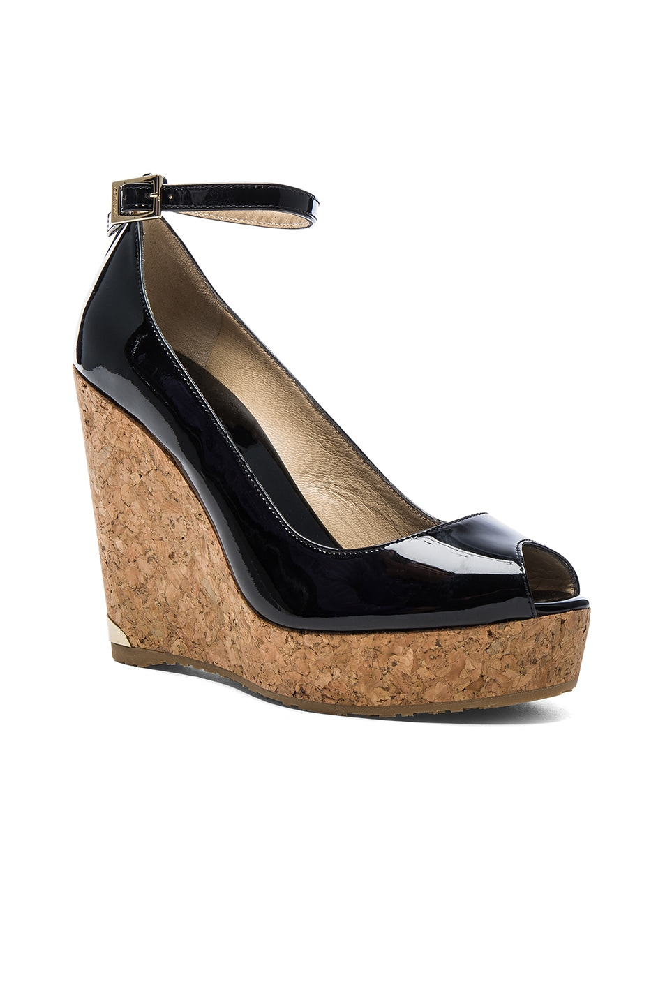 Image 2 of Jimmy Choo Pacific Wedge in Black