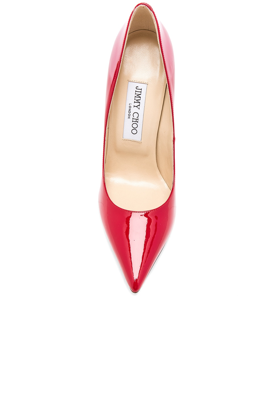 Image 4 of Jimmy Choo Anouk 120 Patent Leather Pump in Red