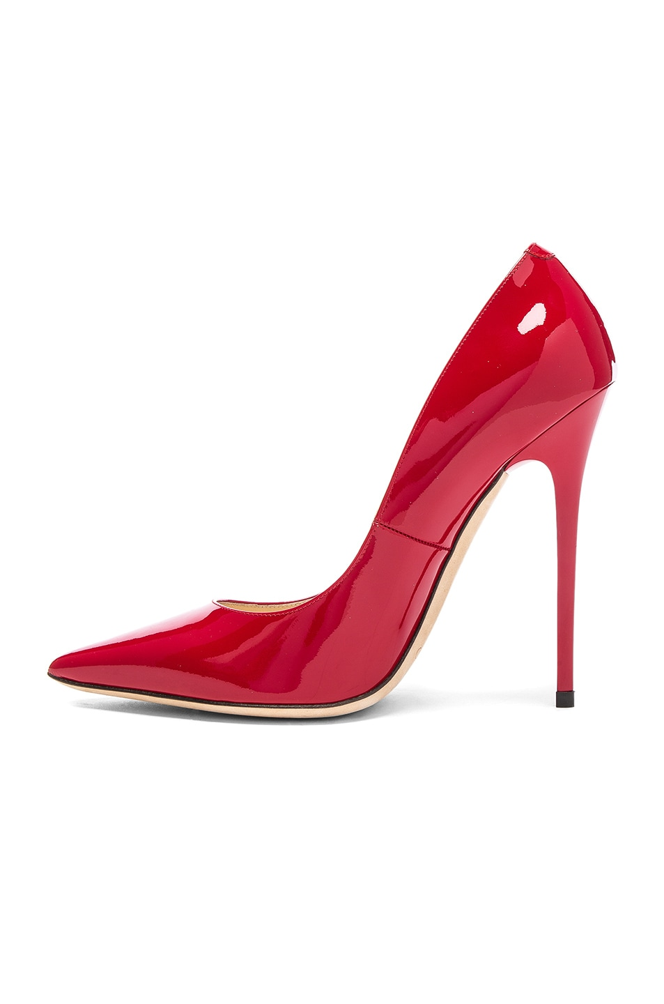 Image 5 of Jimmy Choo Anouk 120 Patent Leather Pump in Red