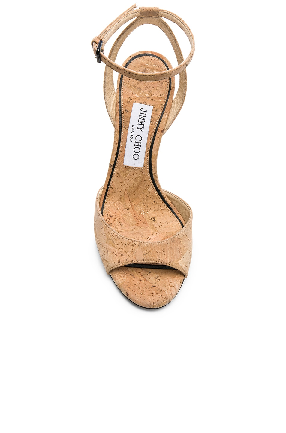 e09864289a4c Image 4 of Jimmy Choo Miranda 100 Cork Sandal in Nude