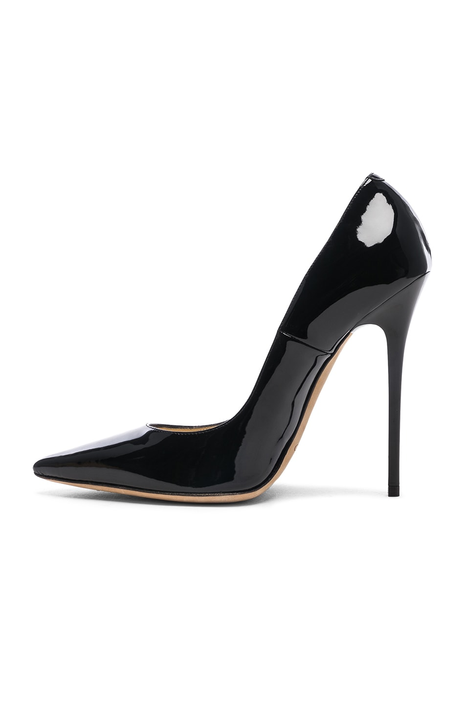 Image 5 of Jimmy Choo Anouk 120 Patent Leather Pump in Black