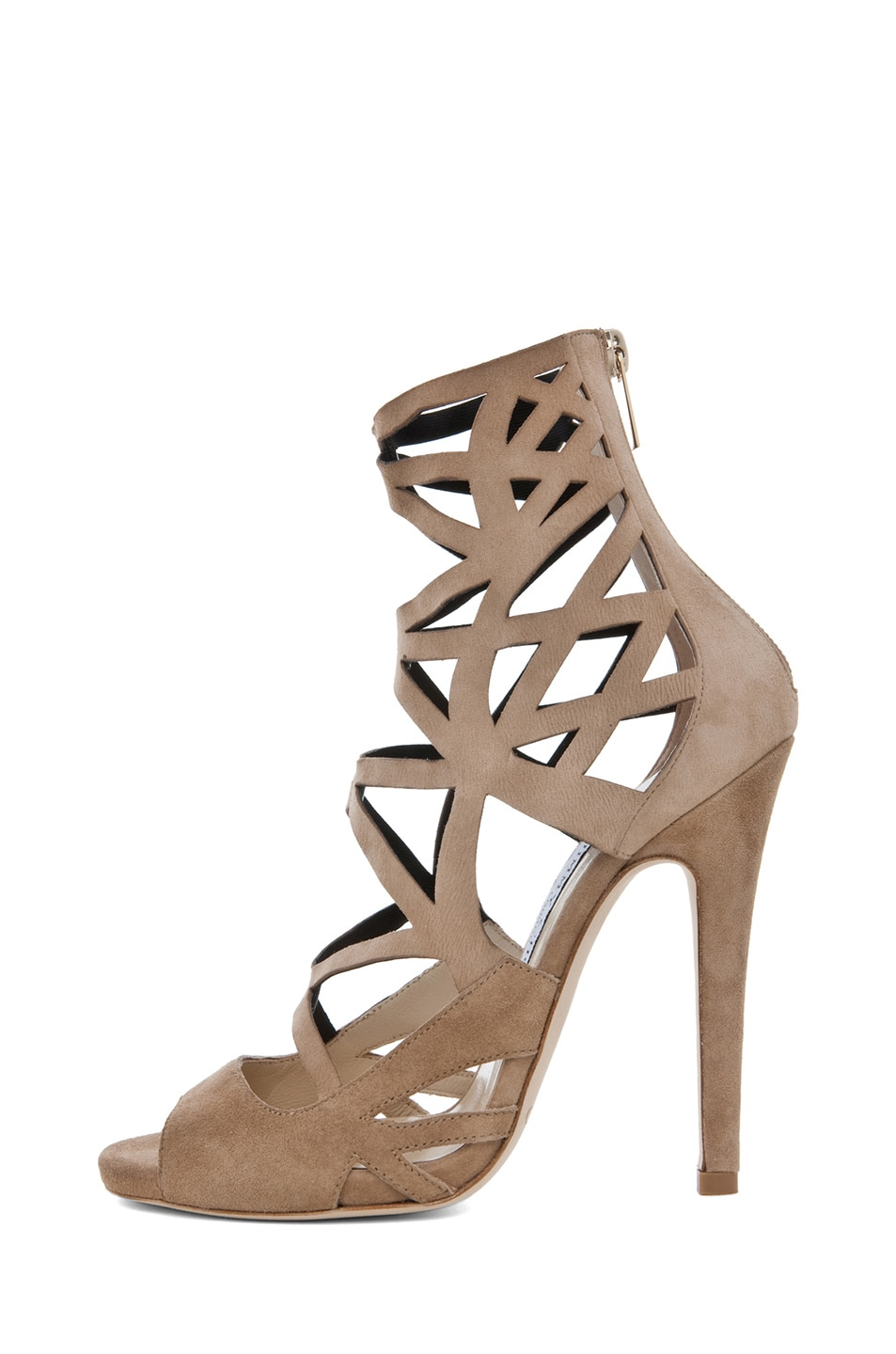 Image 1 of Jimmy Choo Viva Cut Out Bootie in Nude