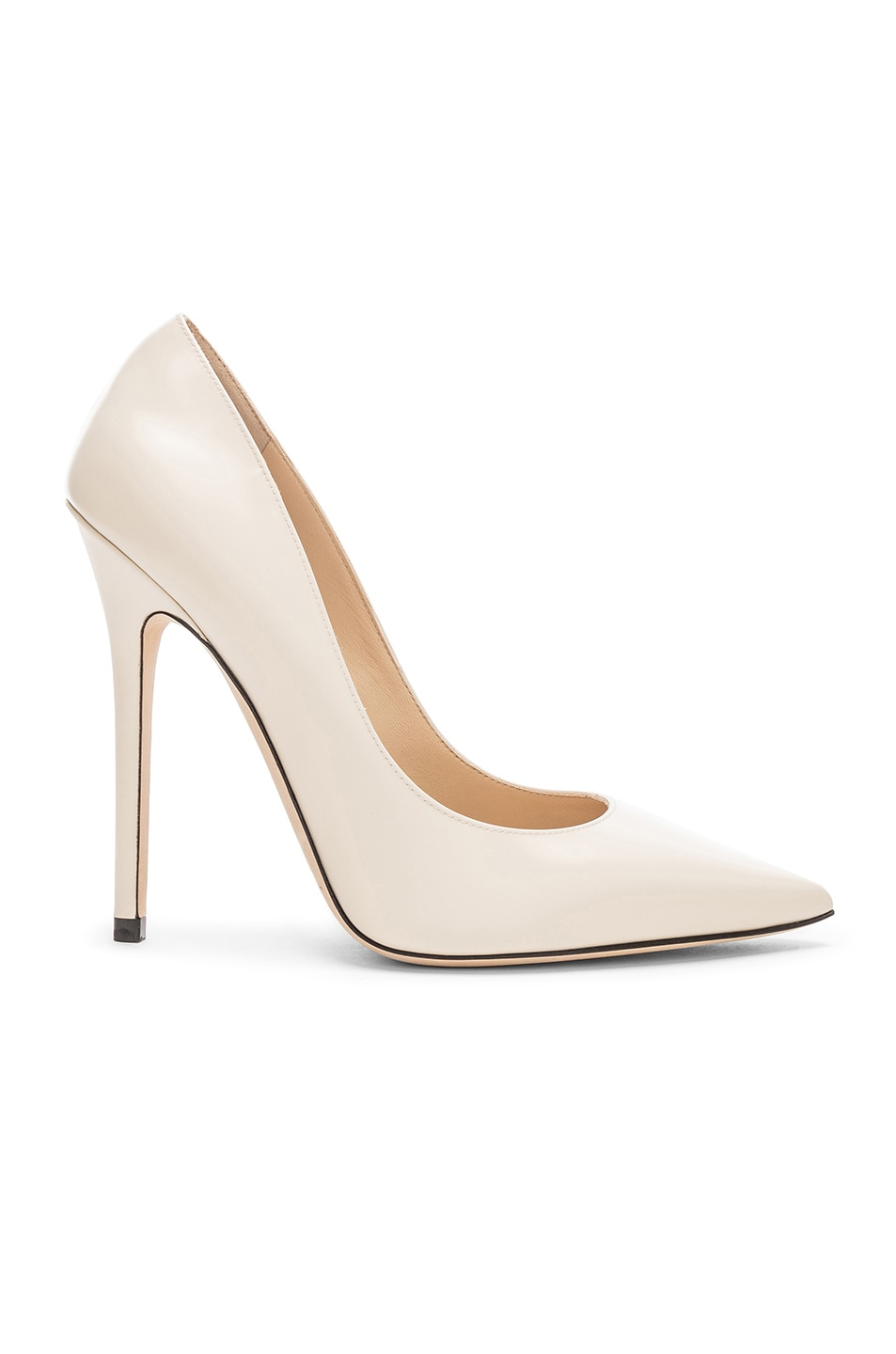Image 1 of Jimmy Choo Anouk 120 Leather Pump in Linen