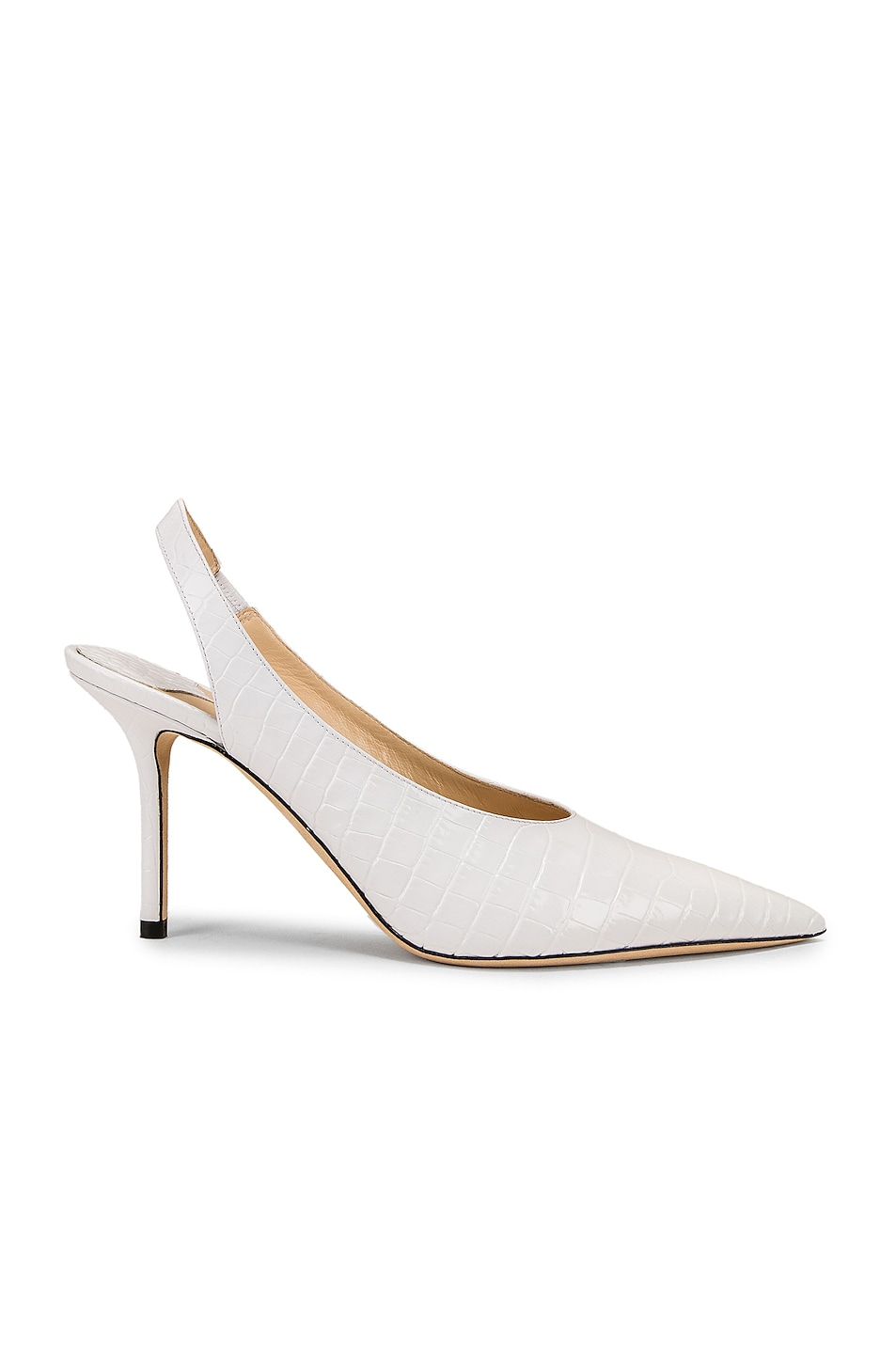 Image 1 of Jimmy Choo Ivy 85 Heel in Latte