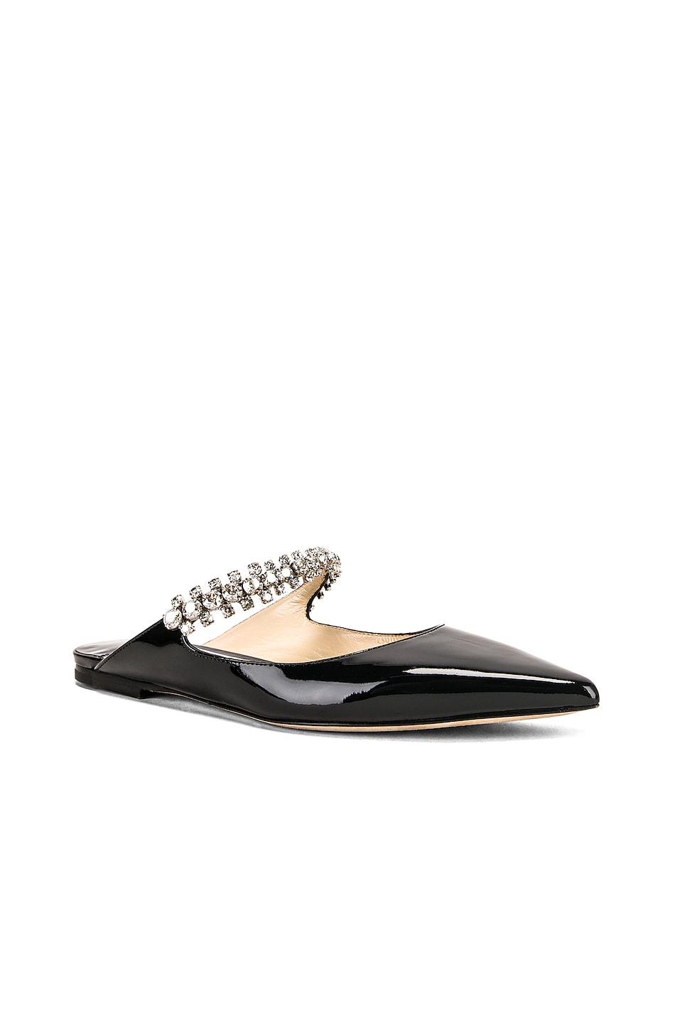 Image 2 of Jimmy Choo Patent Leather Bing Flat in Black