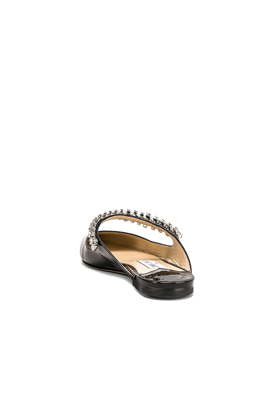 Image 3 of Jimmy Choo Bing Patent Leather Flat in Black