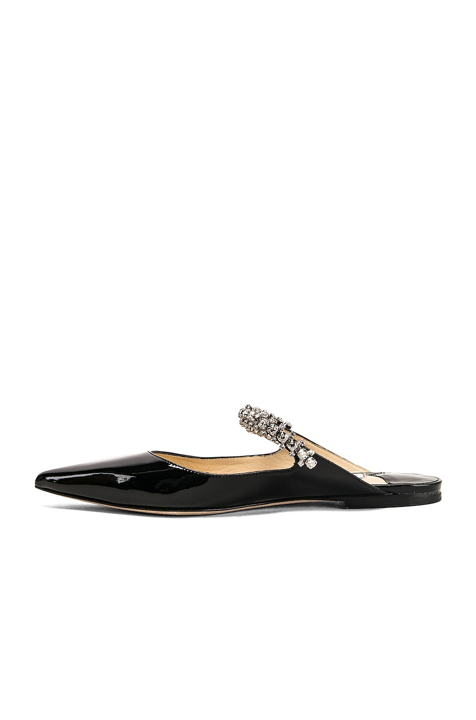 Image 5 of Jimmy Choo Bing Patent Leather Flat in Black