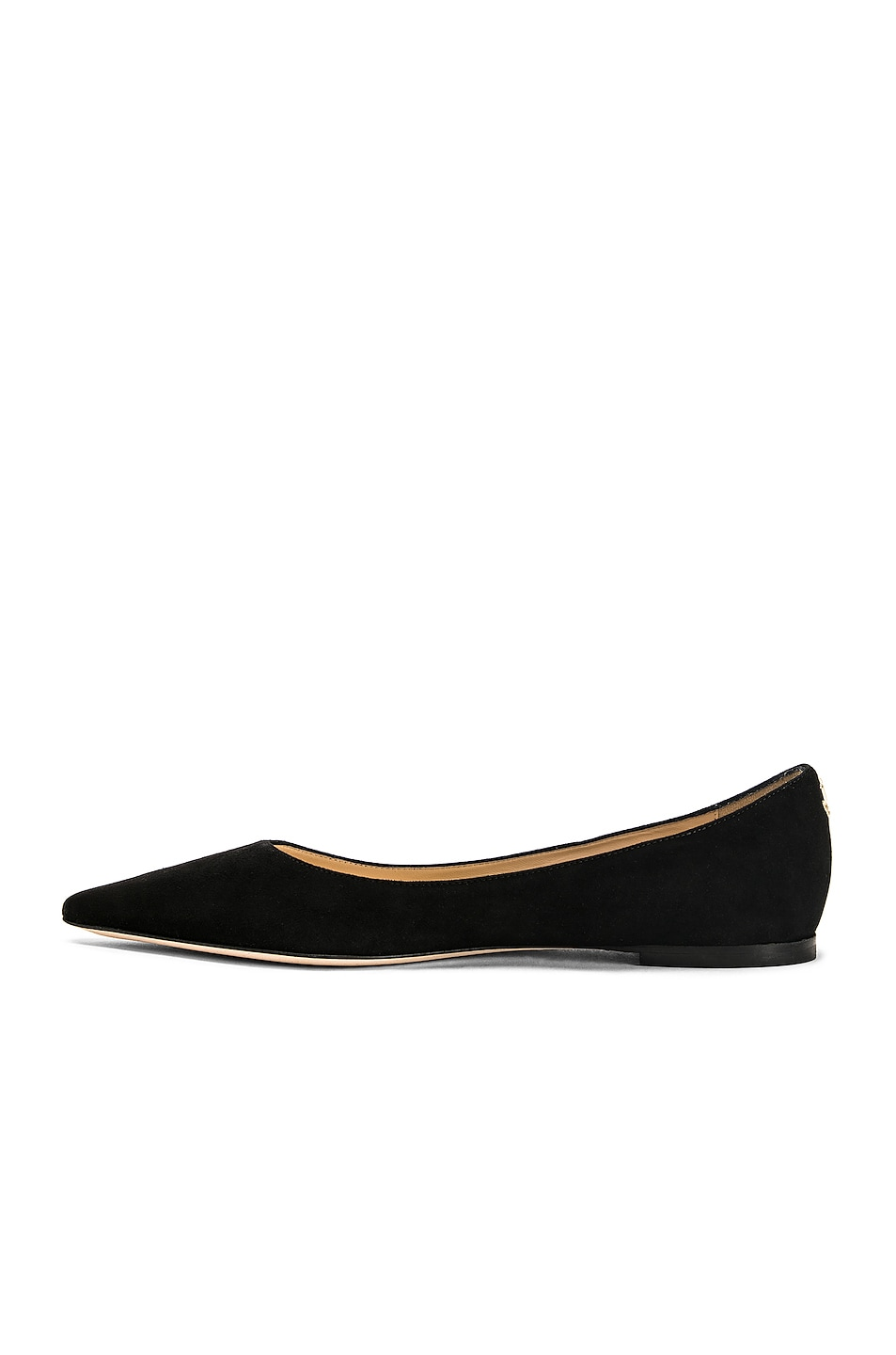 Image 5 of Jimmy Choo Suede Love Flat in Black