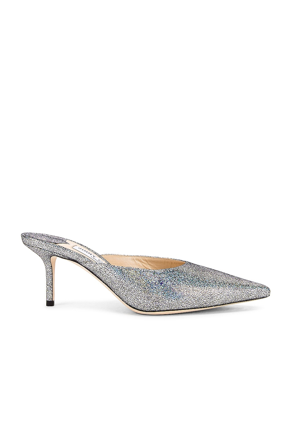Image 1 of Jimmy Choo Rav 65 Hologram Heel in Multi