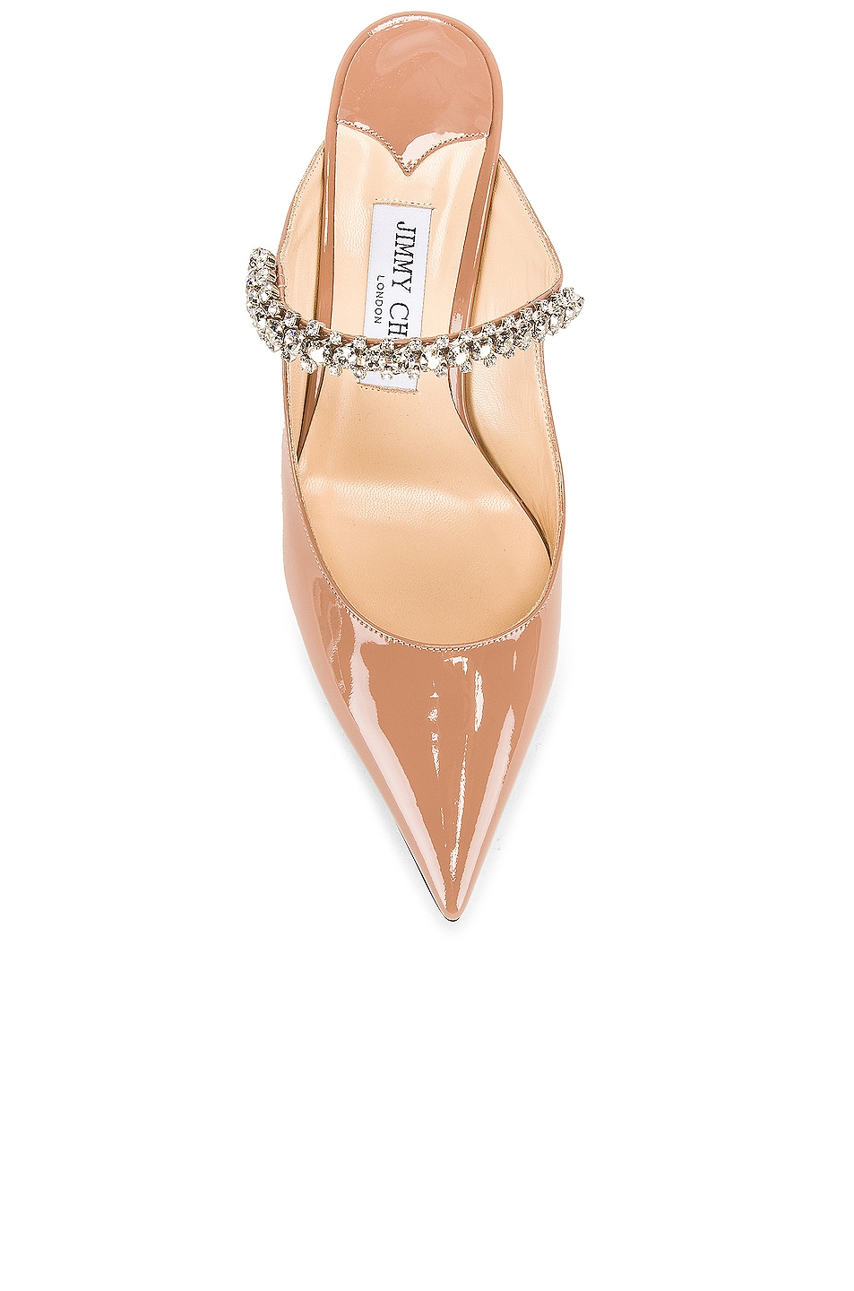 Image 4 of Jimmy Choo Patent Leather Bing 65 Heel in Ballet Pink