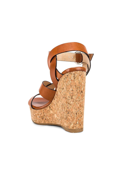 Image 3 of Jimmy Choo Aleili Wedge Heel in Cuoio