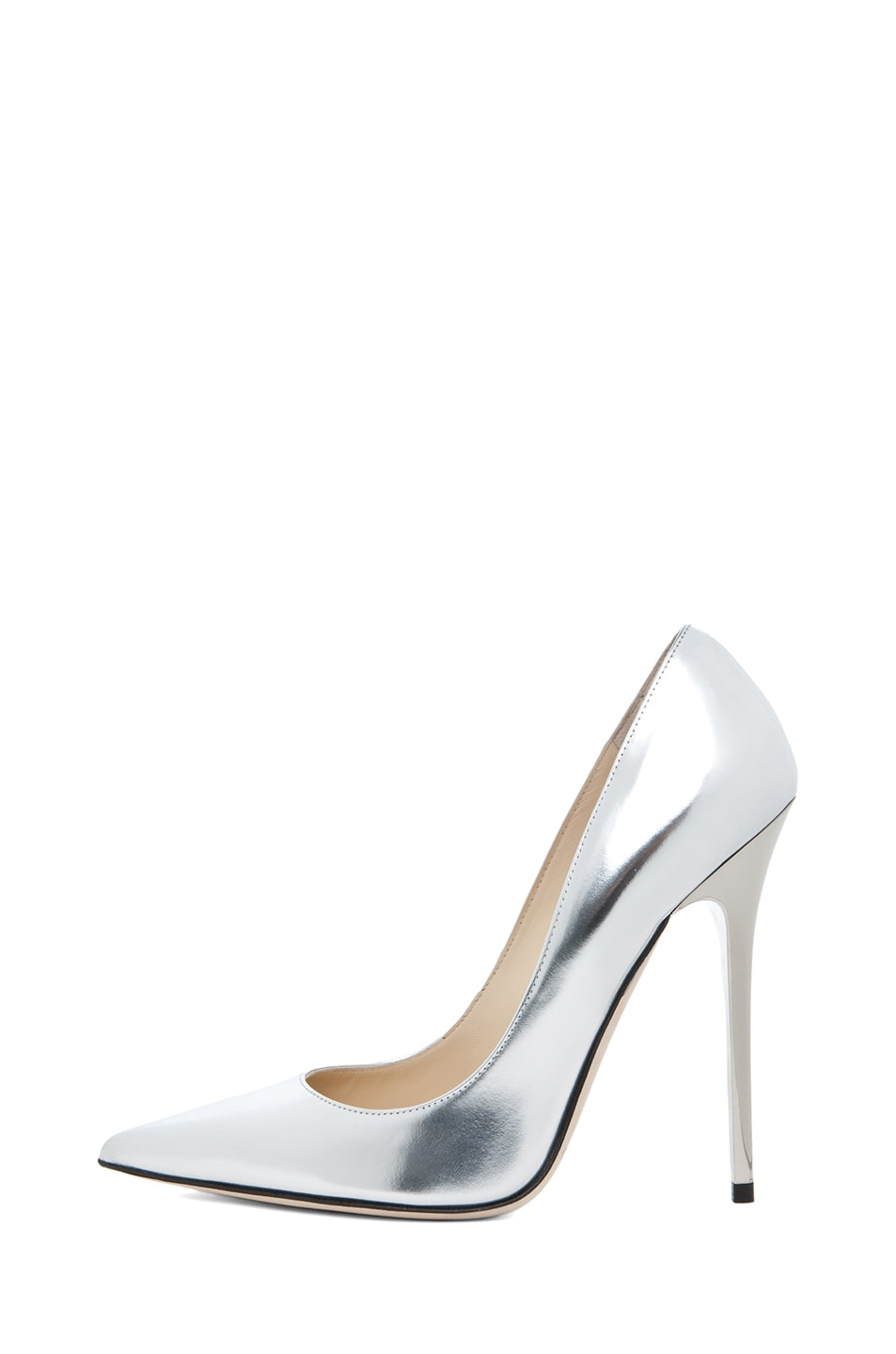 Image 1 of Jimmy Choo Anouk Heel in Silver