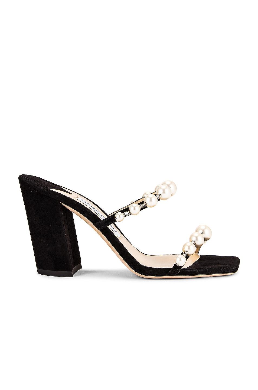 Image 1 of Jimmy Choo Amara 85 Sandal in Black & White
