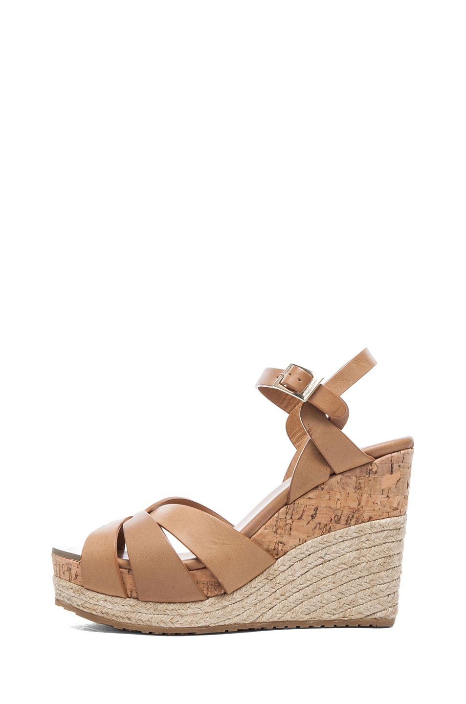 Image 1 of Jimmy Choo Pallet Espadrilles in Cuoio