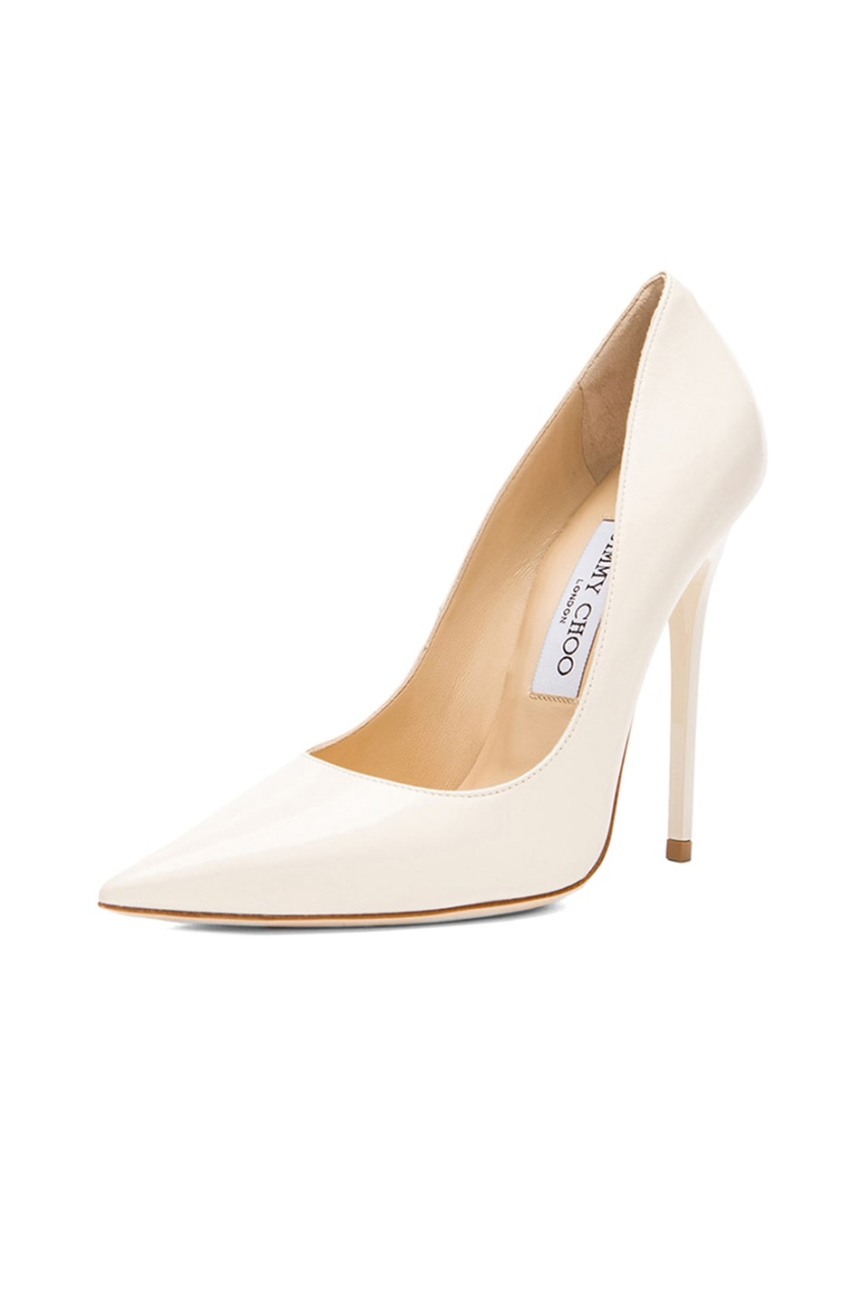 5fd29f541c3 Image 2 of Jimmy Choo Anouk Leather Pumps in Off White